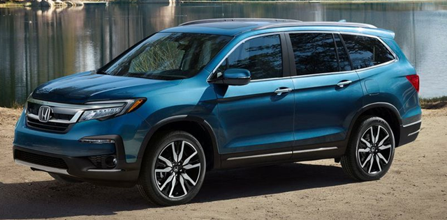 2019 honda pilot review specs features highland in. Black Bedroom Furniture Sets. Home Design Ideas