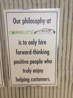 acura columbus our philosophy