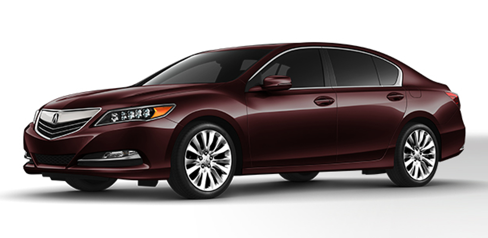2016 Acura RLX in Pomegranate Pearl