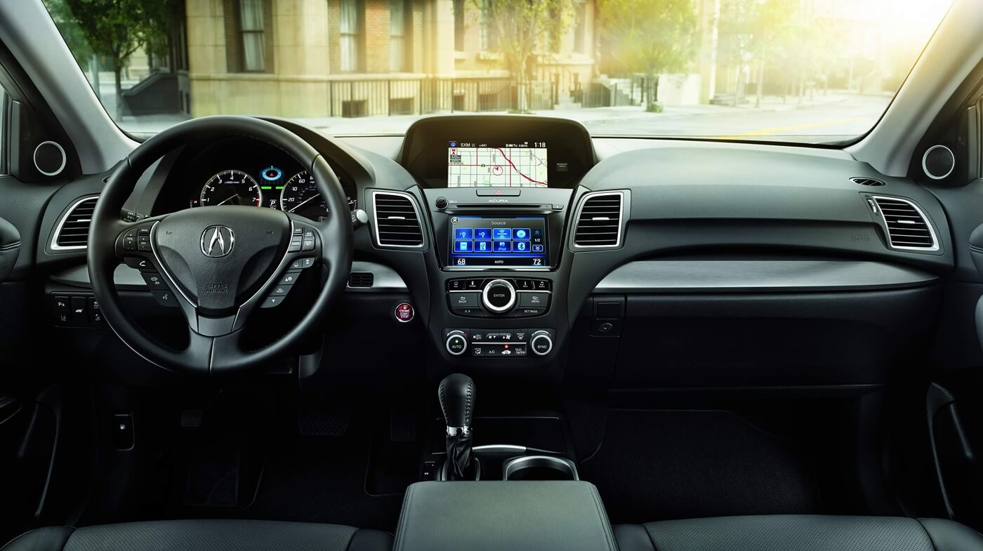 2017 Acura RDX front interior