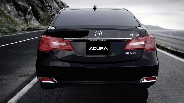 2017 Acura RLX rear view