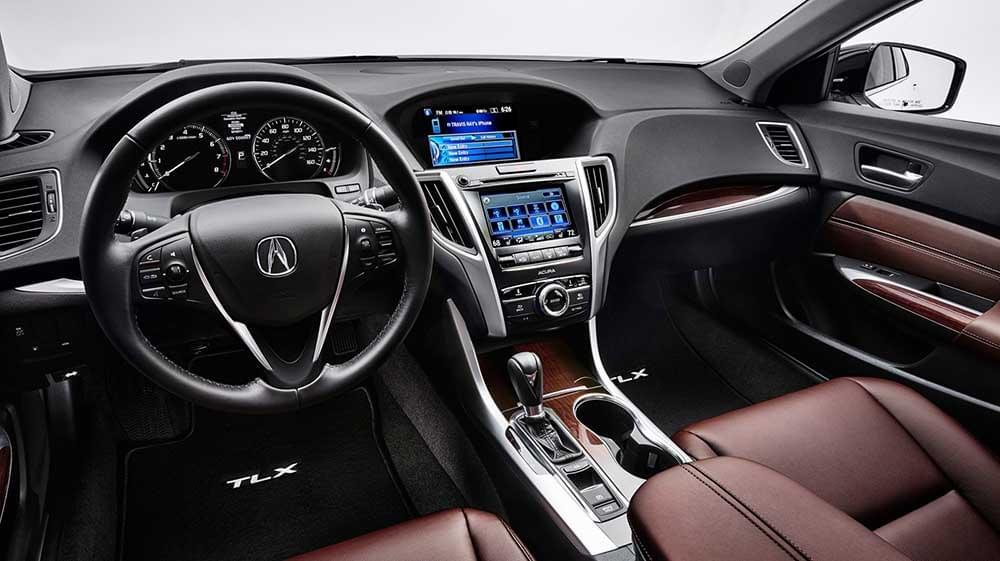 2017 Acura TLX display