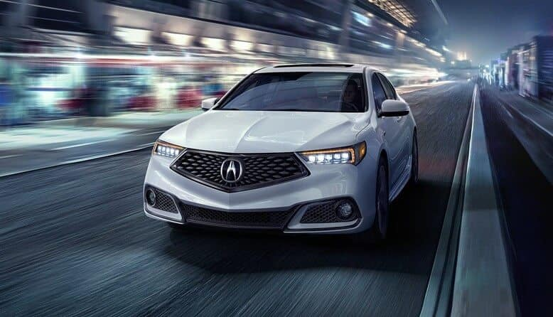 2018 Acura TLX performance features