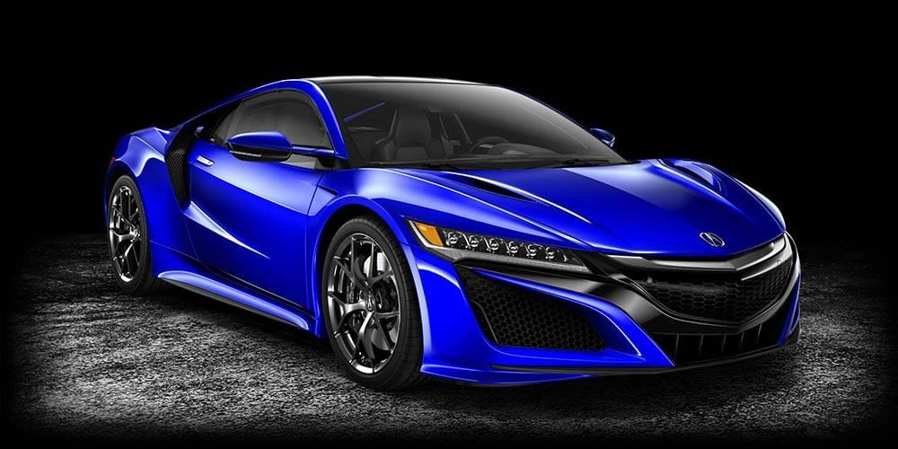 2017 Acura NSX Nouvelle Blue Pearl
