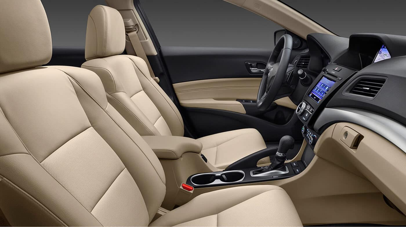 2018 Acura ILX interior front seating