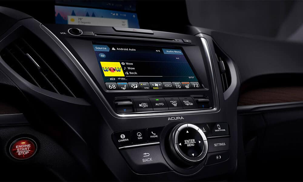 2018 Acura MDX Advance Entertainment Pkgs On Demand Mulit Use Display