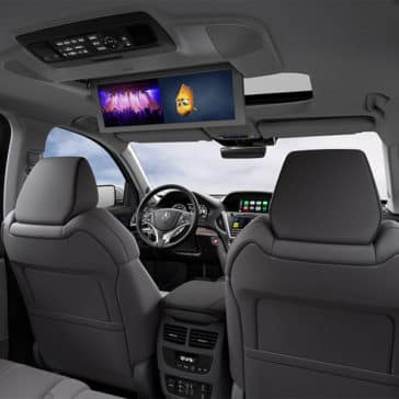 2018 Acura MDX Advance Entertainment Pkgs Rear Video Screens