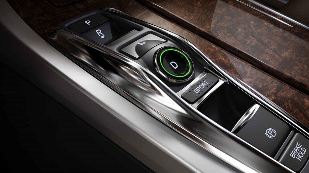 2018 Acura RLX drive selector