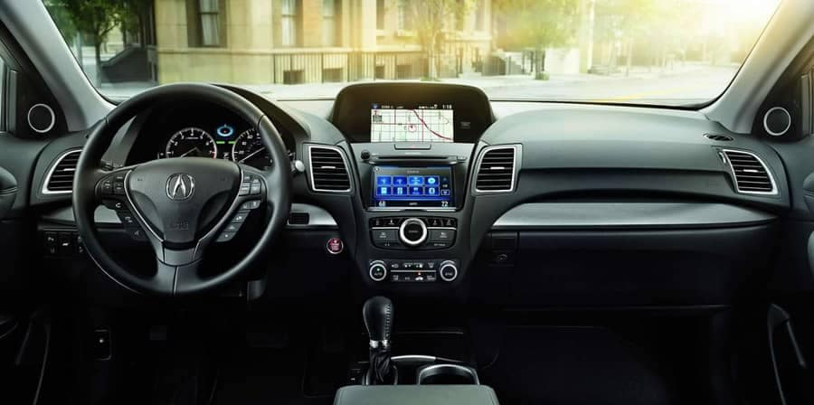 2018 Acura RDX dashboard