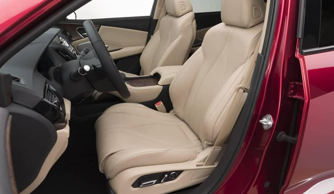 2019 Acura RDX front leather seats