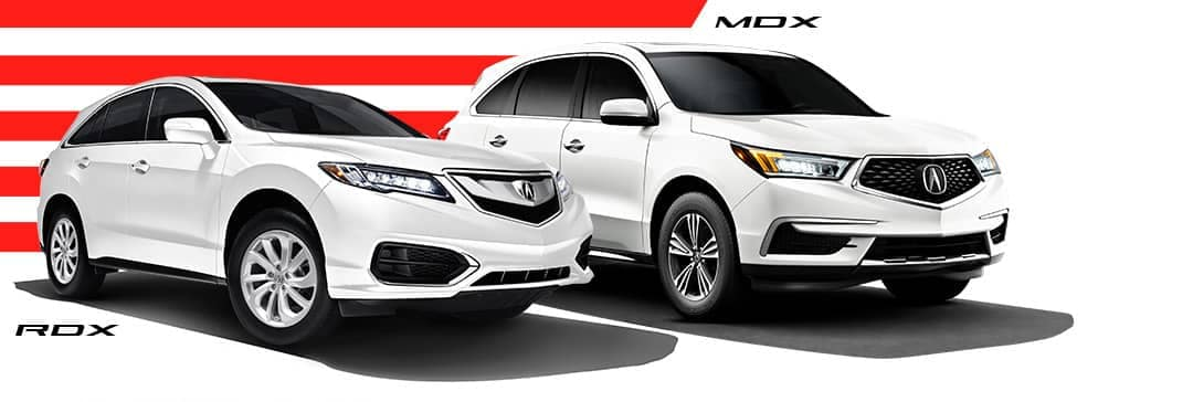 Acura MDX and RDX Banner