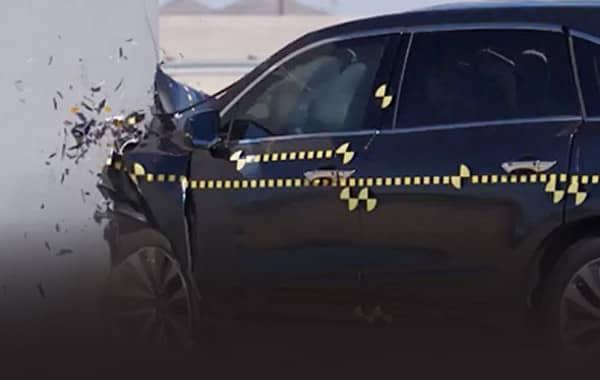 Acura Collision Test