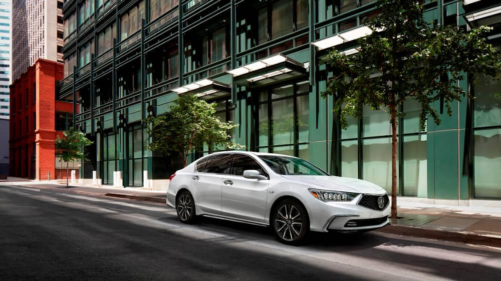 2018 Acura RLX in white