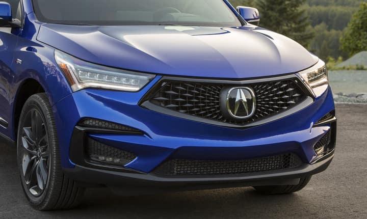 2019 Acura RDX A-Spec front exterior