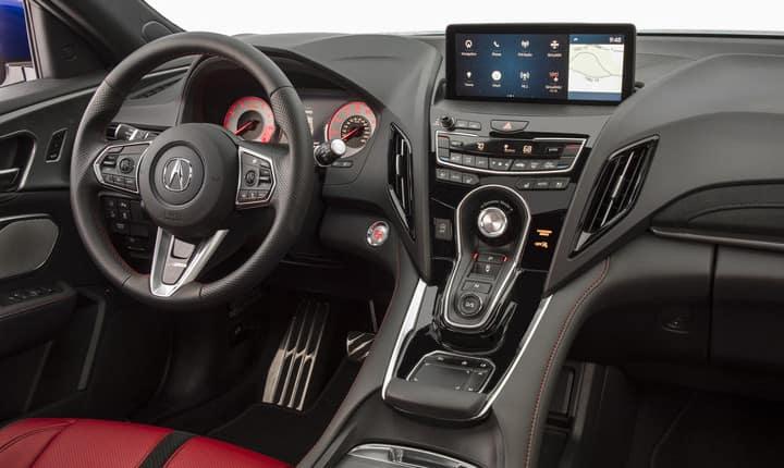 2019 Acura RDX A-Spec interior dashboard