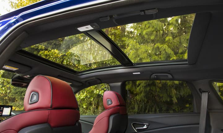 2019 Acura RDX A-Spec panoramic roof