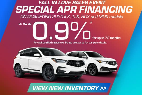 New Inventory Special Financing Offer