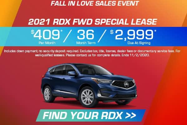 2021 RDX FWD