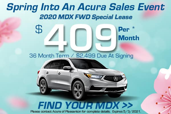 2020 MDX FWD Special Lease