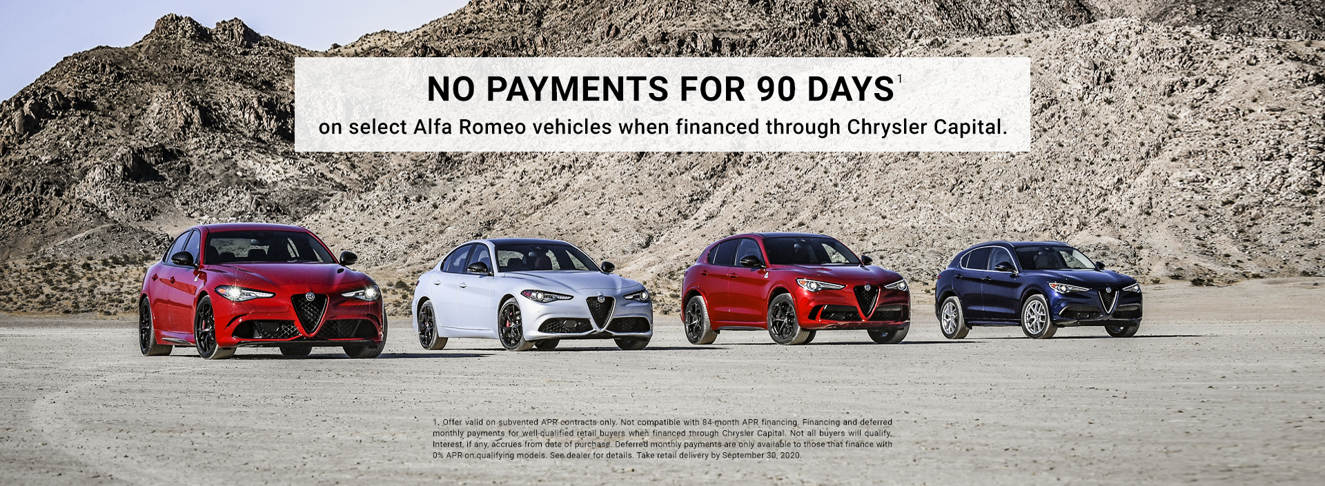September No Payments For 90 Days