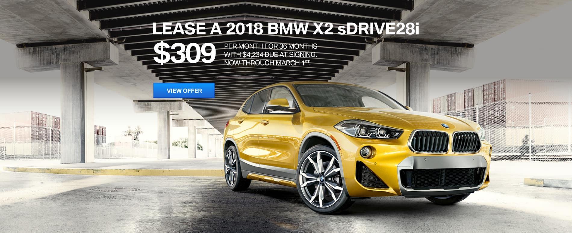 Autobahn BMW X2 Lease | $309