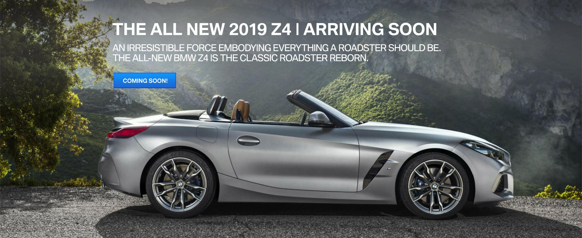 Autobahn BMW | The All New Z4 Series is Almost Here!
