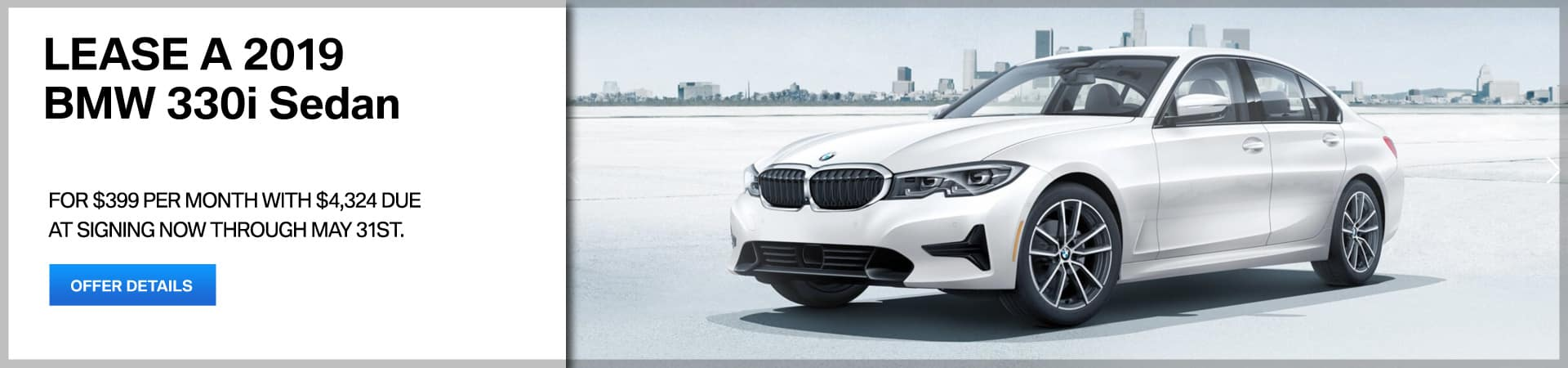 Autobahn BMW - 3 Series Lease Special