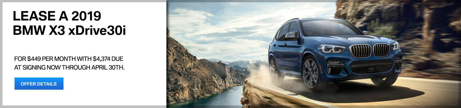 Autobahn BMW - X3 Lease Special