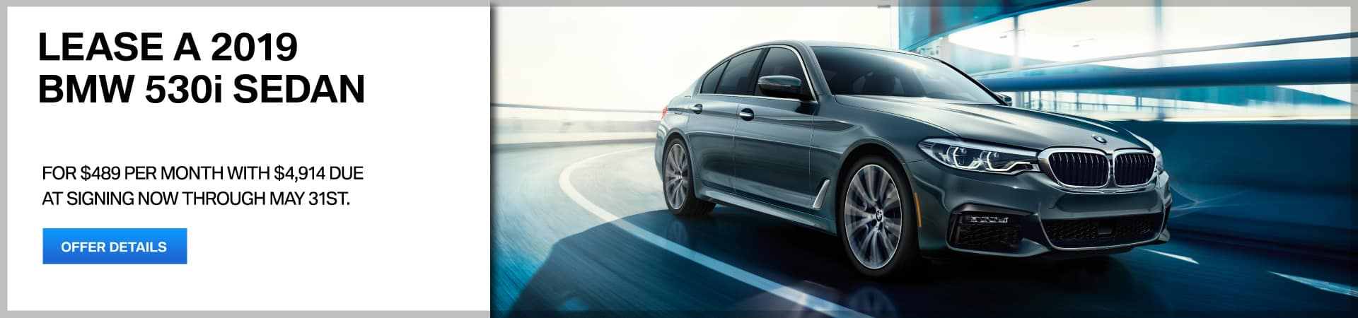 Autobahn BMW - 5 Series Lease Special