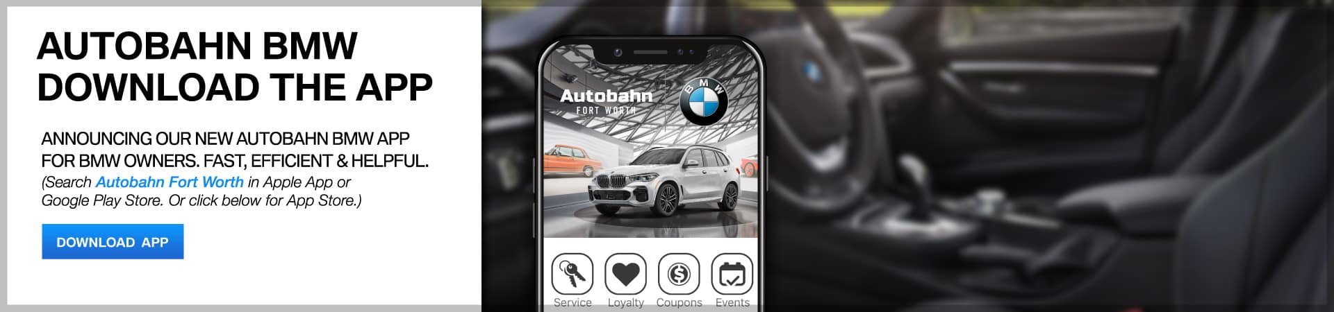Autobahn BMW Fort Worth | Download Our App!