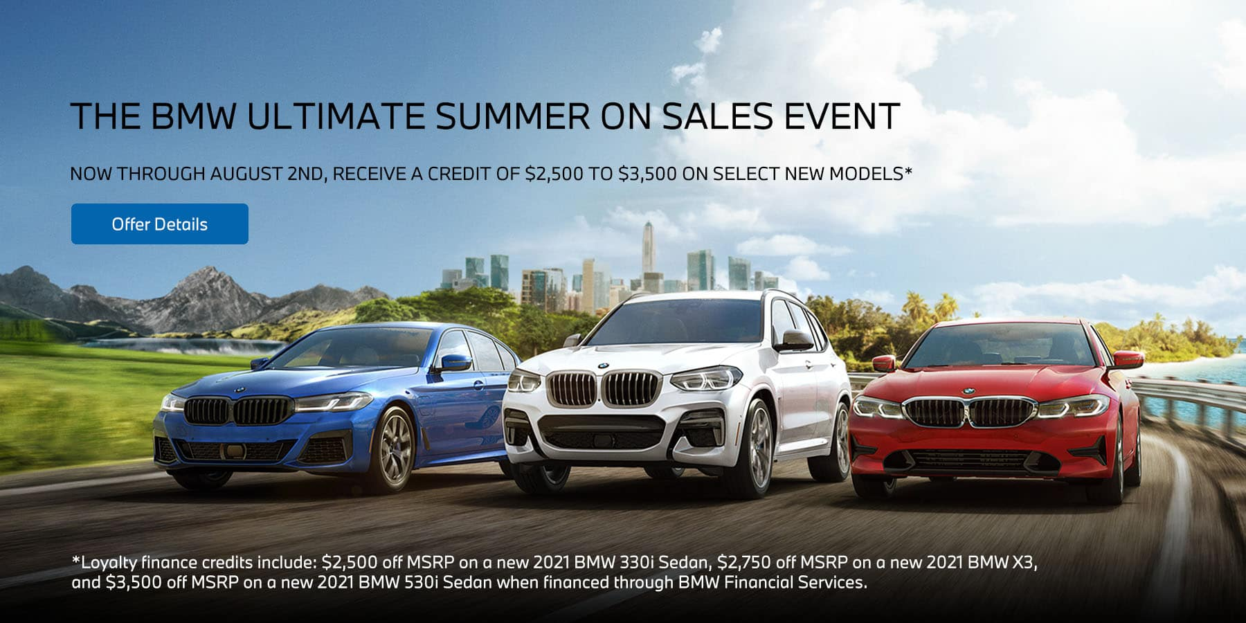 The BMW Ultimate Summer On Sales Event