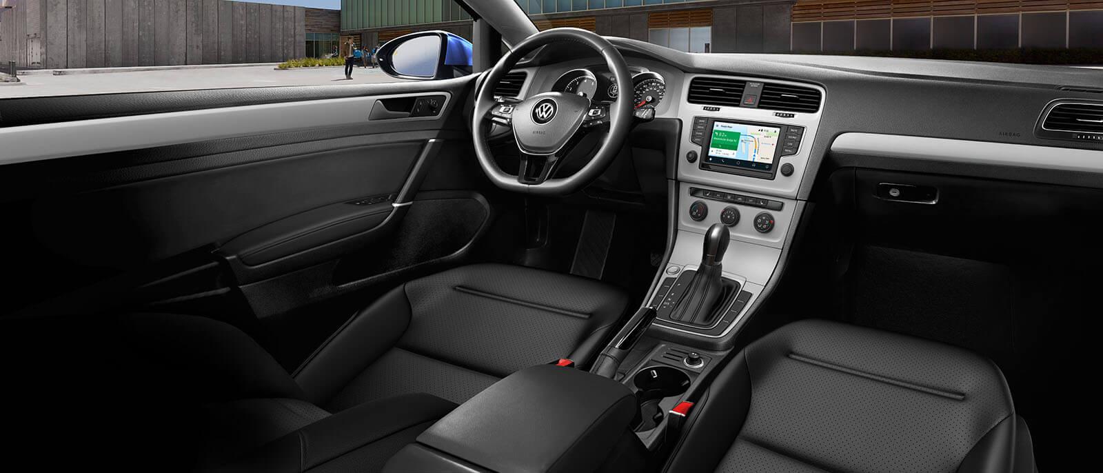 2017 VW Golf Interior ...