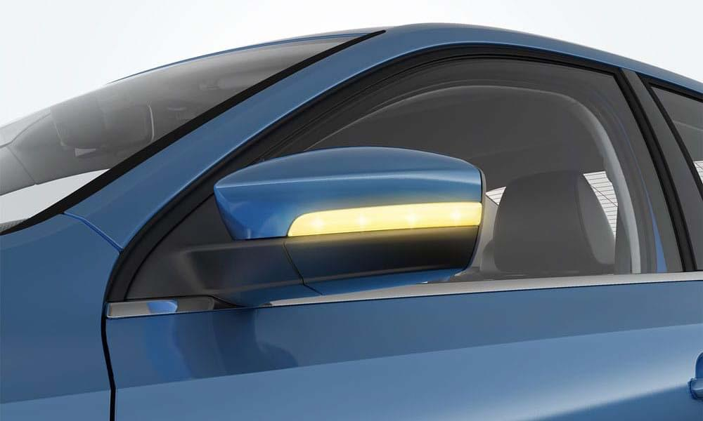 2017 VW Jetta CANADA Side Mirror Signals