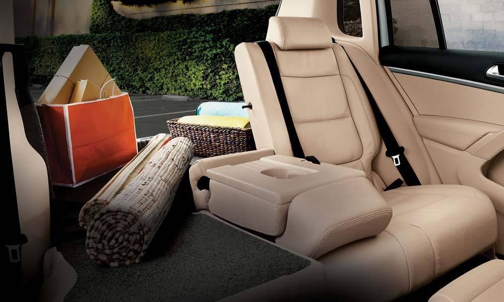 2017 VW Tiguan CANADA 6040 Seating