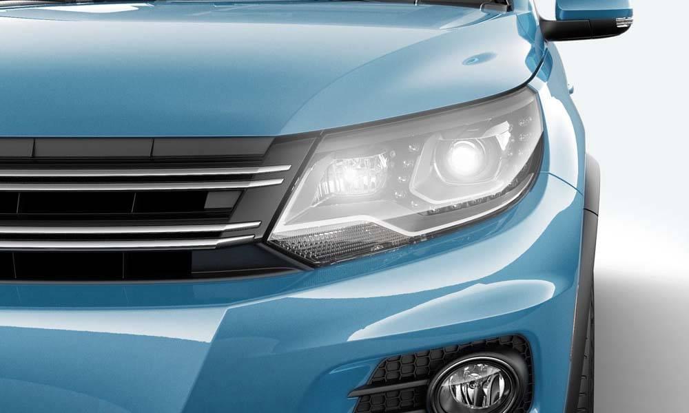2017 VW Tiguan CANADA Headlights
