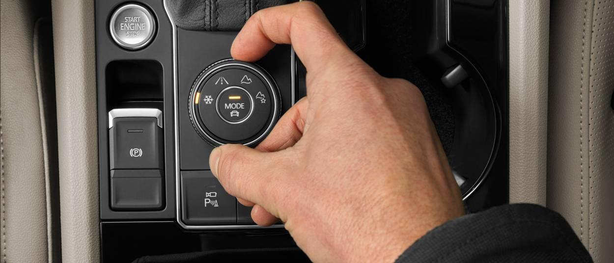 2018 Volkswagen Atlas buttons