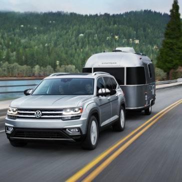 2018 Volkswagen Atlas towing