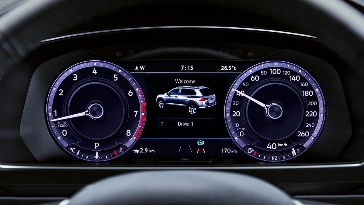 2018 Volkswagen Tiguan Overview | Auto Haus Volkswagen | {Auto cockpit vw 18}