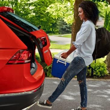 2018 Volkswagen Tiguan Easy Open Tailgate