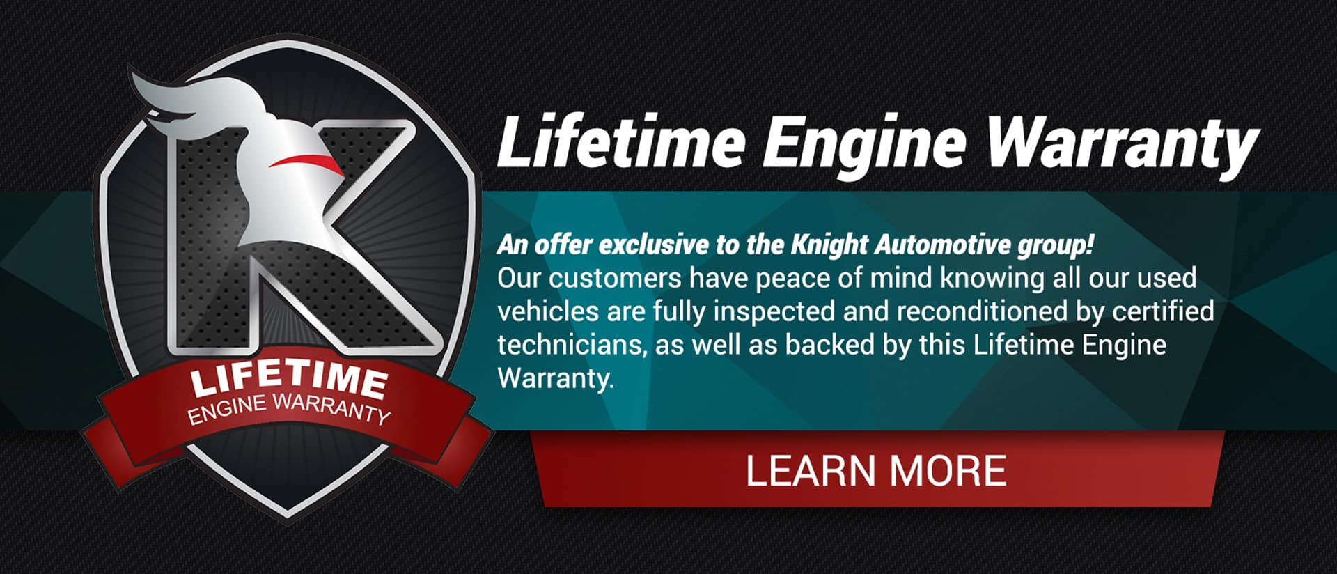 Lifetime Engine Warranty