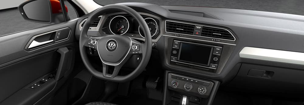 2018 volkswagen tiguan interior features knight auto. Black Bedroom Furniture Sets. Home Design Ideas
