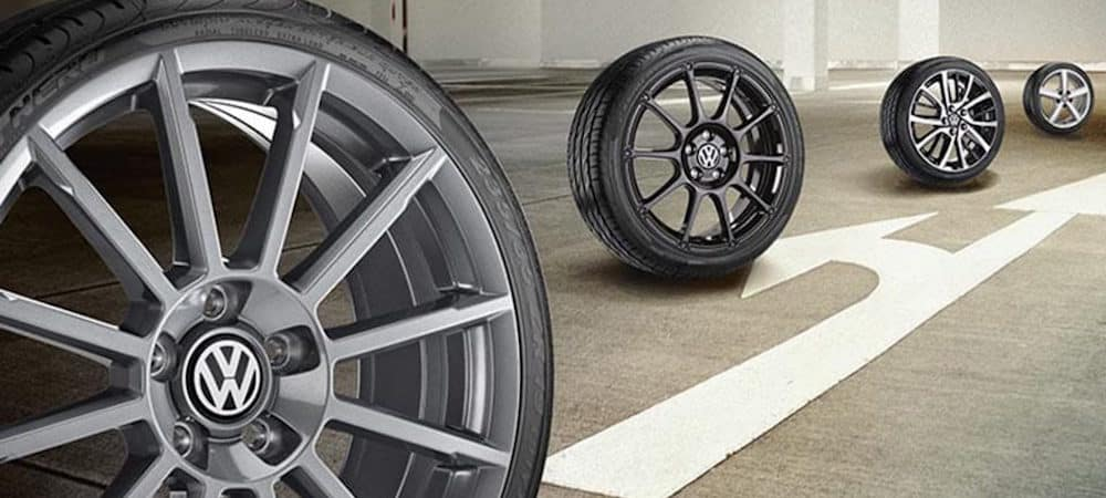 Various Passat wheel options