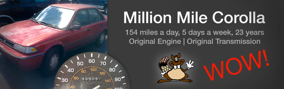 Million Mile Corolla