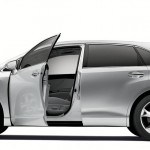 venza silver open trunk