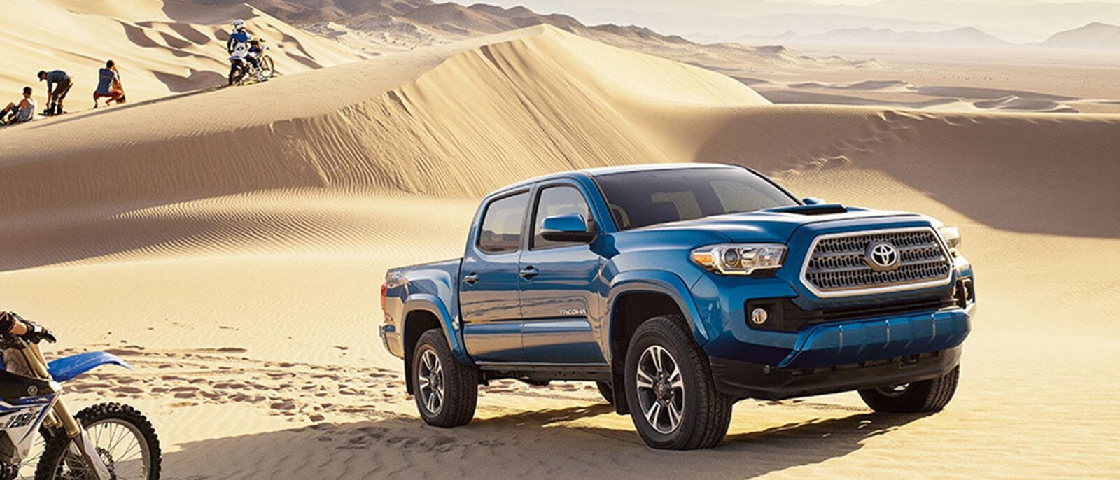 2017 Toyota Tacoma in the desert