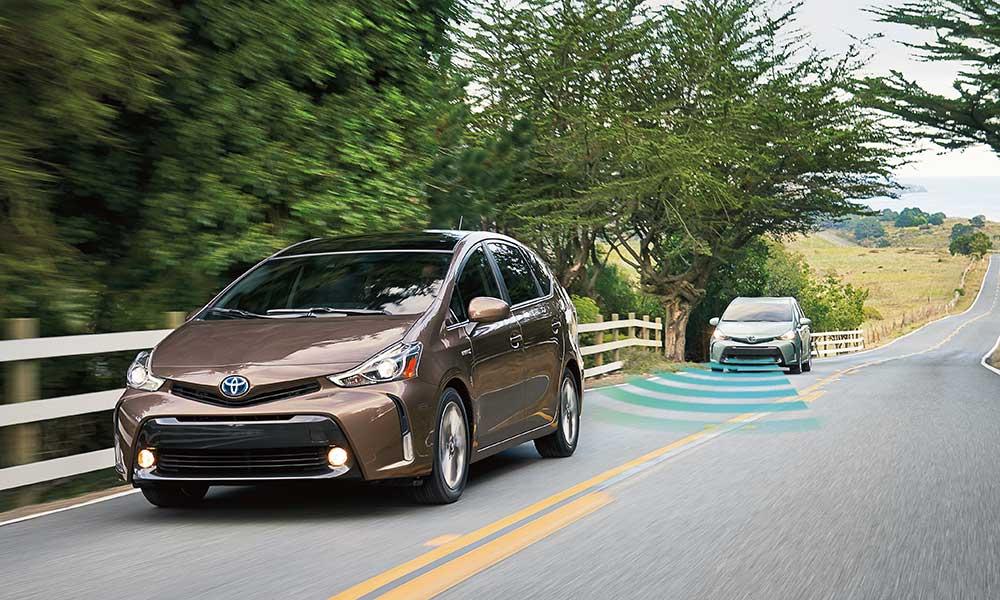 2017 Toyota Prius V sensor