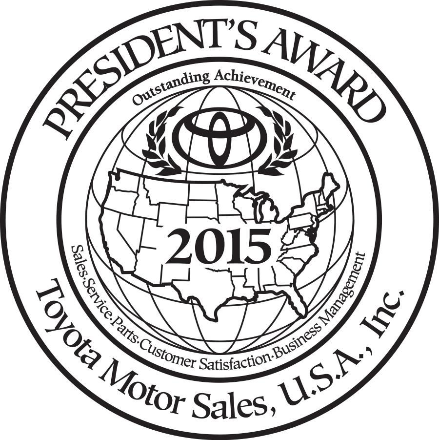 2015 presidents award