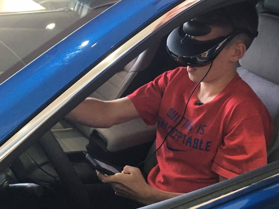 Distracted Driving Simulator- Virtual Reality Technology