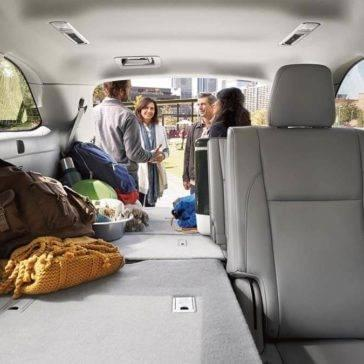 2017 Toyota Highlander XLE interior ash color