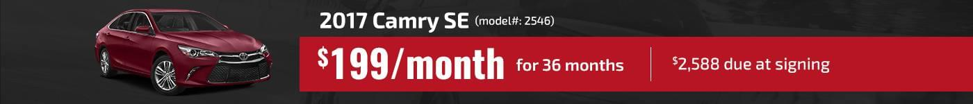 2017 Camry SE